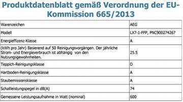 AEG LX7-1-FFP beutelloser Staubsauger