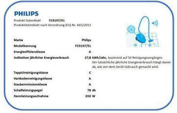 Philips PerformerPro FC9197/91 Staubsauger mit Beutel