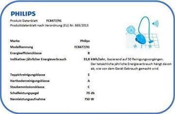 Philips PowerPro Compact FC8477/91 beutelloser Staubsauger